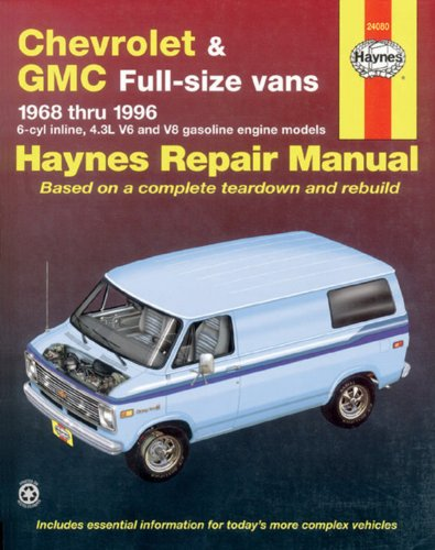 Chevrolet & Gmc Full-Size Vans 1968 Thru 1996 (Haynes Repair Manual) front-627963