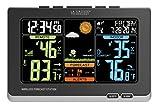 La Crosse Technology C83349 Wireless Atomic Digital Color Forecast Station with Alerts, Black