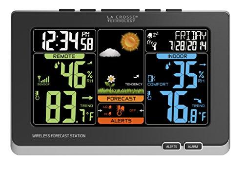 la-crosse-technology-c83349-wireless-atomic-digital-color-forecast-station-with-alerts-black
