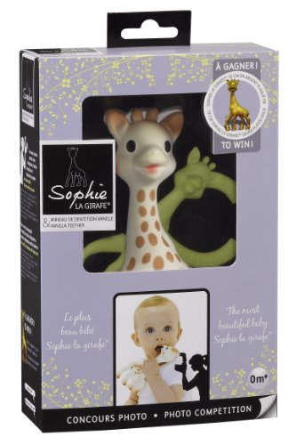 Limited Editioncompetition Gift Set With Vanilla Teether By Sophie The Giraffe