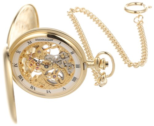 Impulse PG200G Tasche Mechanical Gold Pocket Watch