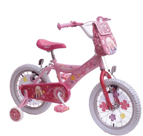 kinderfahrrad fahrrad 16 zoll kinder barbie rosa. Black Bedroom Furniture Sets. Home Design Ideas