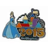 Disney WDW 2015 Castle with Princess Cinderella Pin