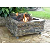 Galvanized fire pit ring for Amazon prime fire pit