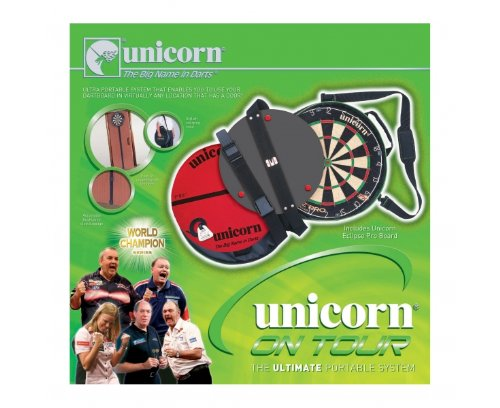 Unicorn On Tour - Black/White/Red/Green
