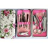 Holiday Sale. Beautiful 12pcs Stainless Steel Manicure Set.
