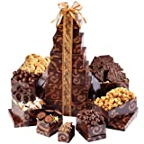 Sympathy Chocolate Tower Gourmet Gift