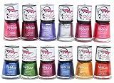 Foolzy Pack of 12 Nail Polish Paint