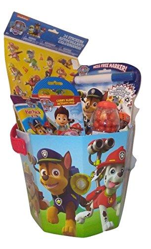 Paw Patrol Badge Activity Birthday Game Toys Nick Jr Gift Set Basket Bundle Boy (Nick Jr Halloween Costumes)