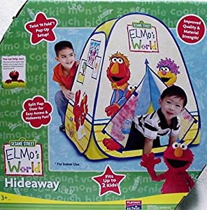 Playhut Sesame Street Elmo's Elmos World Hideaway Pop Up Tent by U.P.D. Inc