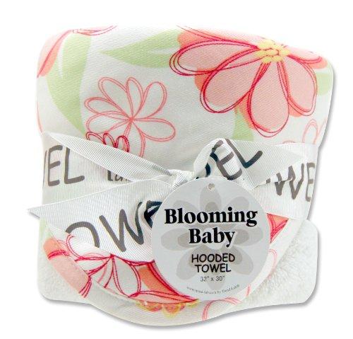 Imagen de Tendencia Lab toalla con capucha para bebé Hula