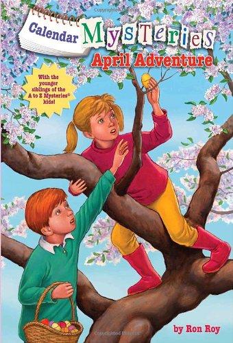 Calendar Mysteries #4: April Adventure (A Stepping Stone Book(TM))