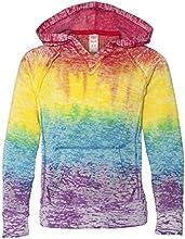 MV Sport Girls Courtney V-Notch Sweatshirt