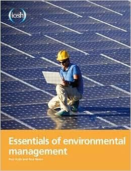 Essentials Of Environmental Management