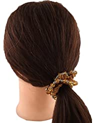Anuradha Art Brown Colour Stylish Hair Accessories Hair Band Stylish Rubber Band For Women/Girls