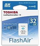 Toshiba SD-F32AIR(BL8 32GB FlashAir Class 10 Wi-Fi SD Card