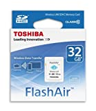 東芝 無線LAN搭載 SDHC FlashAir Class10 32GB SD-R032GR7AL01 TOSHIBA 海外向パッケージ品
