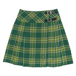 20 inch Irish Plaid Kilt Skirt Size 6