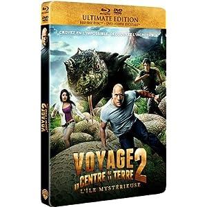 Voyage au centre de la Terre 2 : l'île mystérieuse [Ultimate Edition boîtier SteelBook - Combo Bl