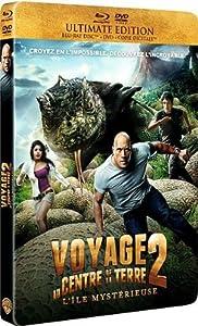 Voyage au centre de la Terre 2 : l'île mystérieuse [Ultimate Edition boîtier SteelBook - Combo Blu-ray + DVD + Copie Digitale]