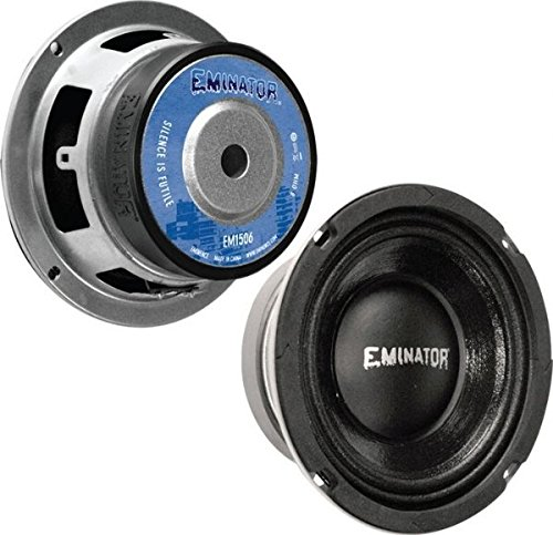 Eminence Eminator EMINATOR 1506 6.5-Inch Eminator Car Audio Speakers (Small Car Door Speakers compare prices)