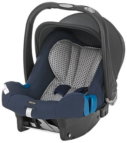 Römer 2000005478 Autositz Baby-Safe plus SHR II, Bellybutton, Blue Star
