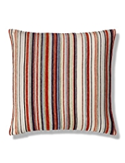 Pinstripe Chenille Cushion