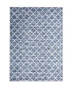 RugSense Alfombra Luxury (Denim/Blanco)