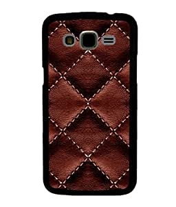 printtech Leather Sew Pattern Back Case Cover for Samsung Galaxy J5::Samsung Galaxy J5 J500F