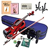 Hallstatt エレキヴァイオリン 教則本&DVD付き13点セット EV-30/TRD スルーレッド ランキングお取り寄せ