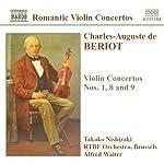 ベリオー:ヴァイオリン協奏曲第1番  第8番  第9番