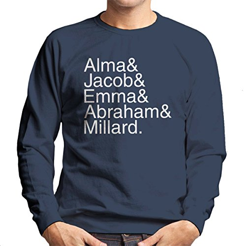 Character Names Miss Peregrine's Home for Peculiar Children White Men's Sweatshirt