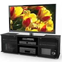 Big Sale Sonax FB-2600 Fiji 60-Inch TV Component Bench, Ravenwood Black