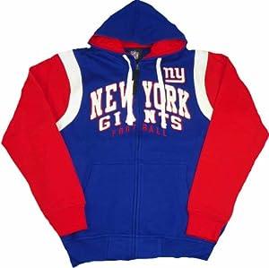 New York Giants Scrimmage Full Zip Hoodie by G-III Sports