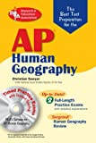img - for AP Human Geography w/ CD-ROM (REA) - The Best Test Prep (Advanced Placement (AP) Test Preparation) by Sawyer Dr. Christian (2008-02-08) Paperback book / textbook / text book