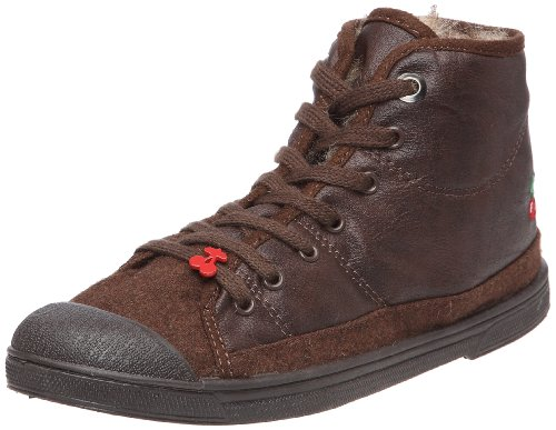 Le Temps Des Cerises - Sneaker Basic 03 Mono Leather_Marron (Brown) Donna, Marrone (Braun), 37