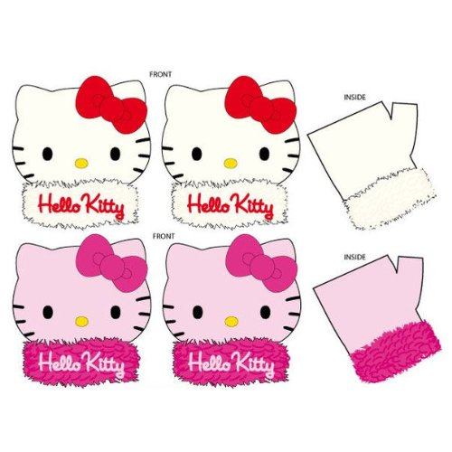 Hello Kitty Guanti Peluche