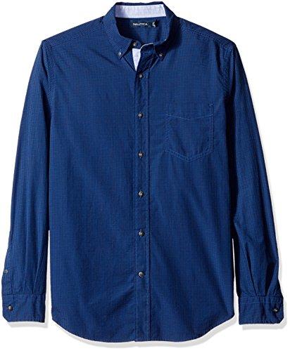 nautica-mens-mens-sleeves-shirt-in-size-xl-blue