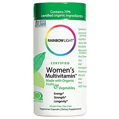Rainbow light Women's Organic Multivitamin, 120-Count