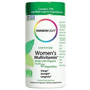 Rainbow Light, Women's Organic Multivitamin, 120-Capsules
