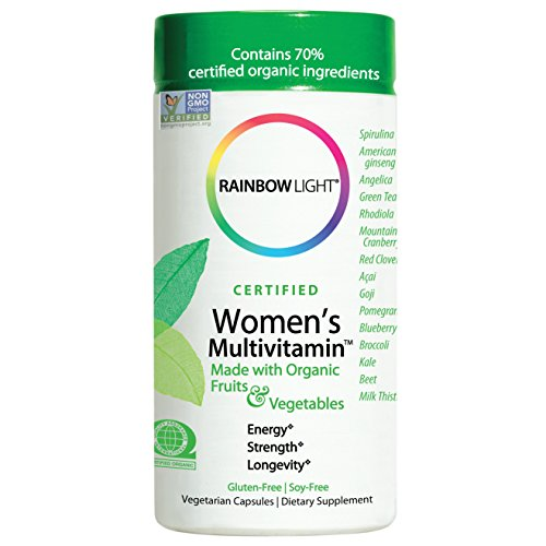 Rainbow Light, Women's Organic Multivitamin, 120-Capsules