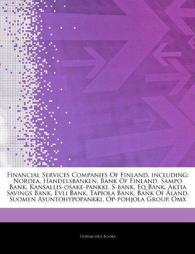 articles-on-financial-services-companies-of-finland-including-nordea-handelsbanken-bank-of-finland-s