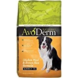 AvoDerm Natural Chicken Meal and Brown Rice Formula Adult Dog Food, 4.4-Pound