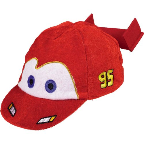 Amscan Disney Cars 2 Birthday Party Deluxe Hat (1 Piece), Red