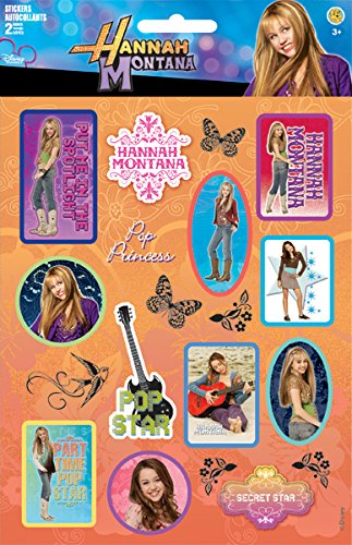 Hannah Montana Sticker Large Two-Sheet Pack 2 - 1