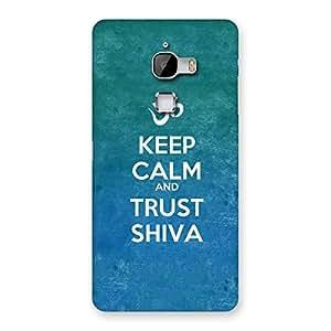 Impressive Trust Shiva Back Case Cover for LeTv Le Max