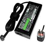 Brand New Genuine Sony Vaio VGN-FW48E/H Laptop Ac Adapter Charger 19.5v 4.7a Power Supply + UK Power Cord - 1 Year Warranty Sold By (Laptop-Accessories4u)