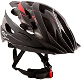 SPORT DIRECT SH540 Helmet Gents, 58 - 62 cm, Red/ Black