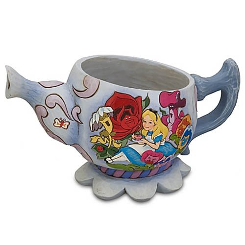 Amazon.com | Disney Alice in Wonderland Teapot Planter by