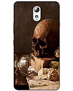 Hugo Lenovo Vibe P1m Back Cover Hard Case Printed